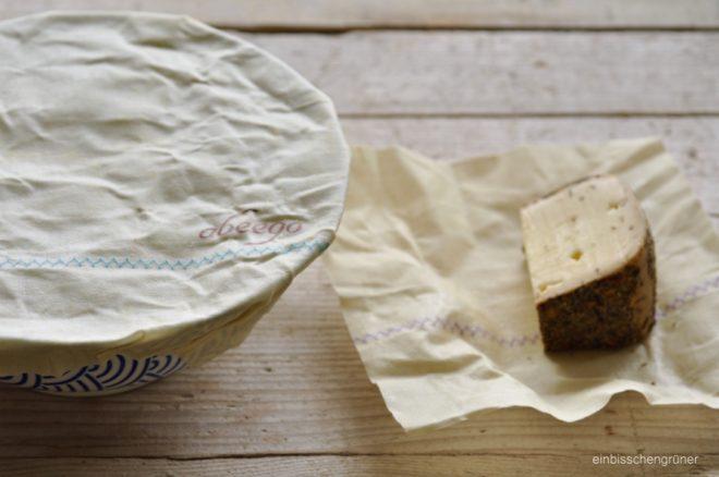 Foodwrap/Bienenwachstuch statt Frischhaltefolie