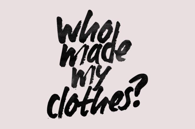 Wir brauchen eine Fashion Revolution