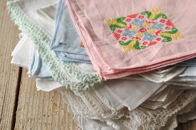 Stofftaschentücher statt Papiertaschentücher