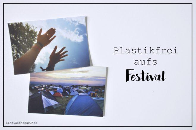 Zero Waste auf dem Festival